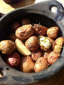 Wood-Fired Roasted Potatoes