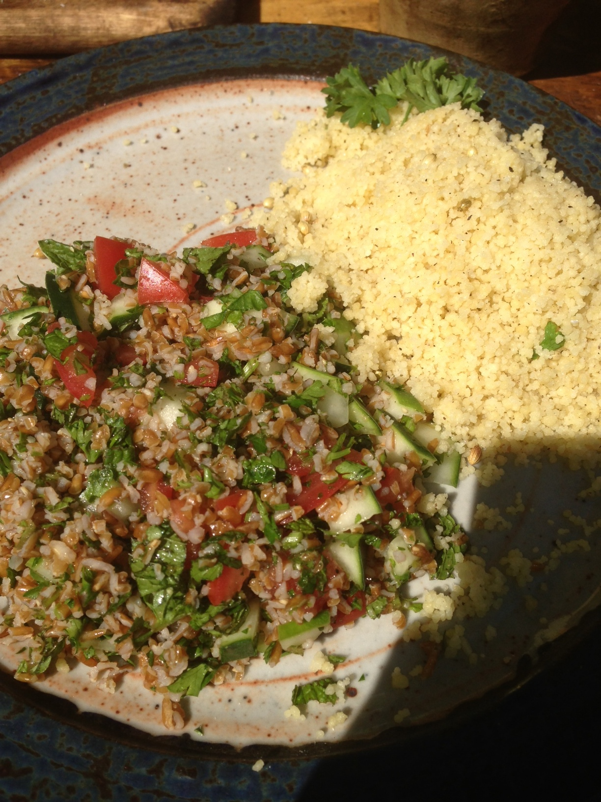 Tabouli and Couscous